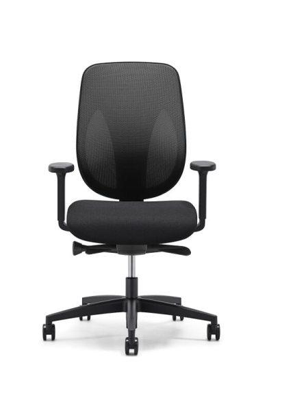 Giroflex 353 bureaustoel zwart