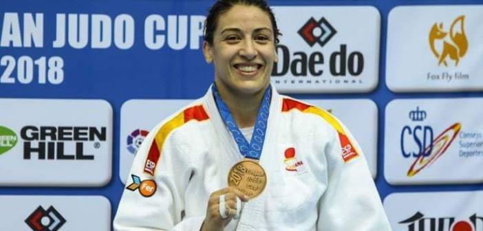 Isabel Puche contenta con medalla en Malaga