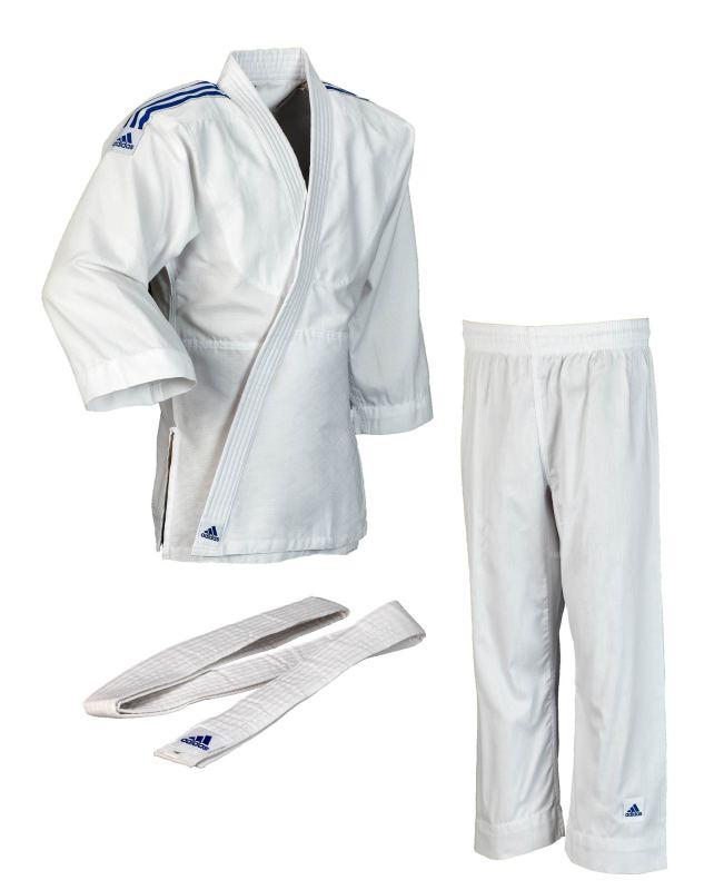Pantalón chaqueta y cinturón blanco Adidas evolution