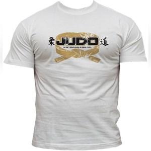 Camiseta judo cinturon