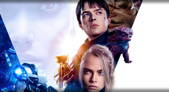 Promotional poster for Valerian and the City of a Thousand Planets