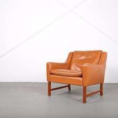 Danish Style Sofa Australia Chair Covers Walmart Sessel Ledersessel Fredrik Kayser Vatne Teak 60er
