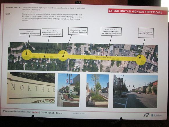Extend Lincoln Highway Streetscape