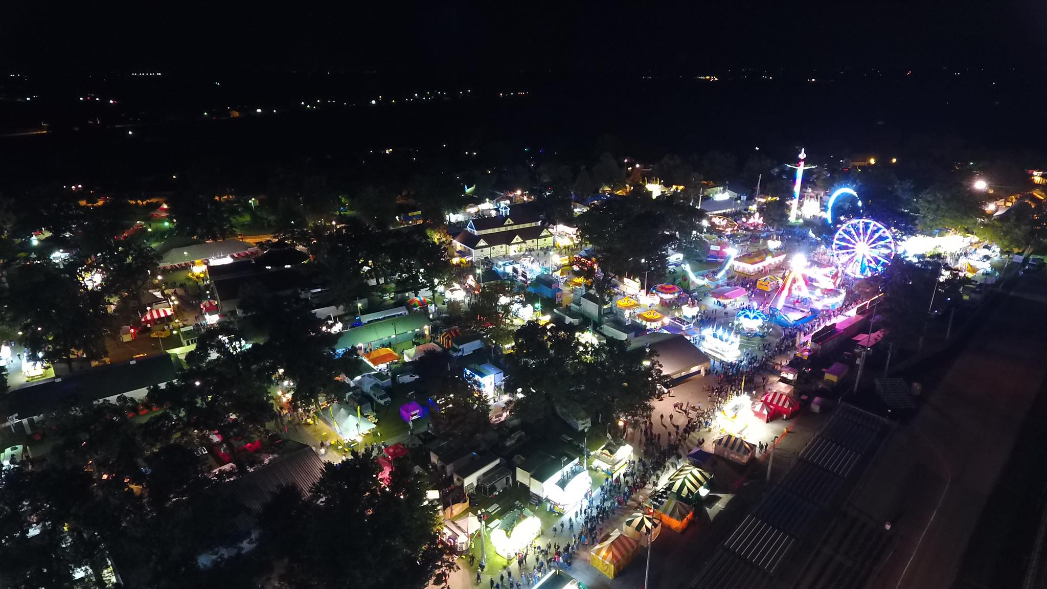 Sandwich Fair Overhead View