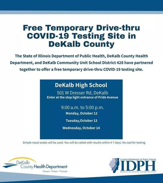 Free COVID-19 Testing in DeKalb County