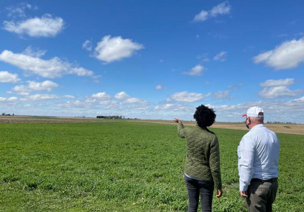 Underwood Proposes New Climate Change Related Funds for Farmers