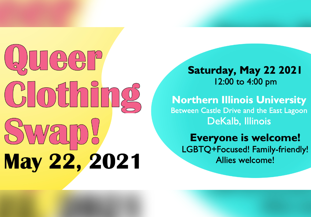 Illinois Rural LGBTQ+ Resource Group Holding Queer Clothing Swap At NIU