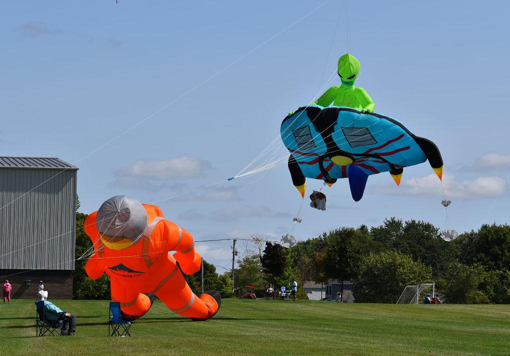 Kites Delight At 16th Annual DeKalb Kite Fest