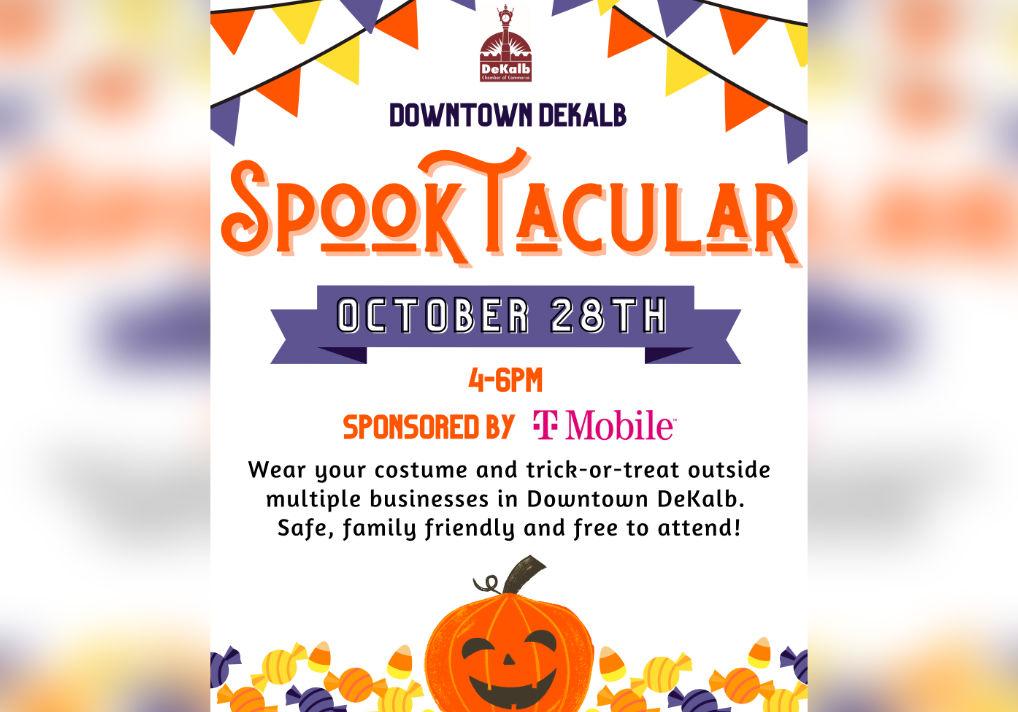 Spooktacular Celebration Downtown DeKalb October 28th