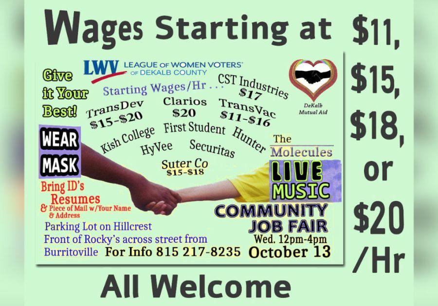 League Of Women Voters Community Job Fair