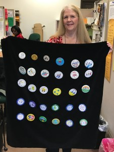 Dr. Allen with buttons