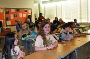 Students at Reading Bowl