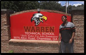 Warren Tech Student