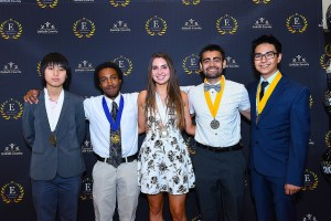 DeKalb County School District parents, teachers, principals and administrators celebrated the district's valedictorians and salutatorians on the evening of Thursday, May 3.