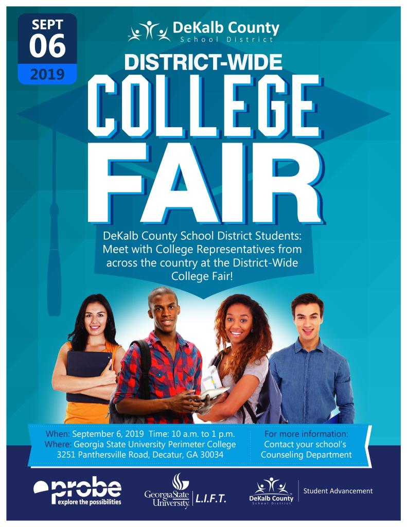 Probe college fair Sept 2019