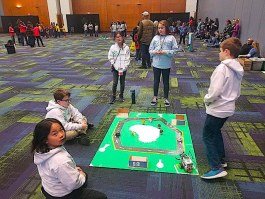 students at junior beta competition