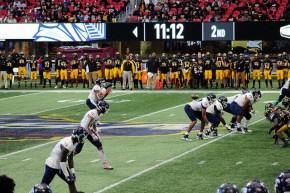 Cedar Grove football lines up for snap