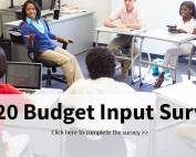 2020 Budget Input Survey
