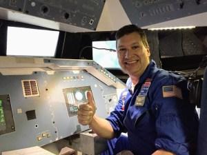Brian Gardiner at space pilot