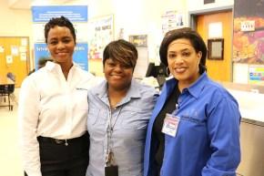 three DCSD staff members