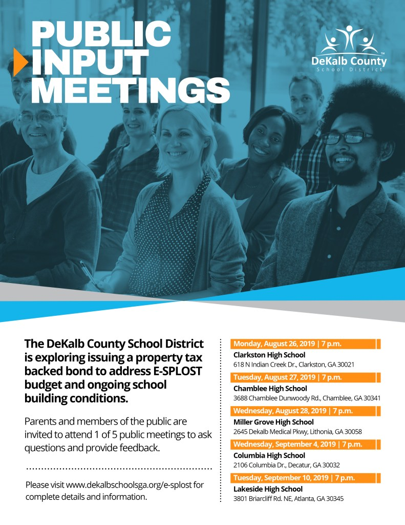 GO Bond Public Meetings