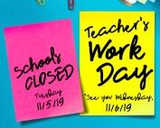 Teacher Workday 11-05-19