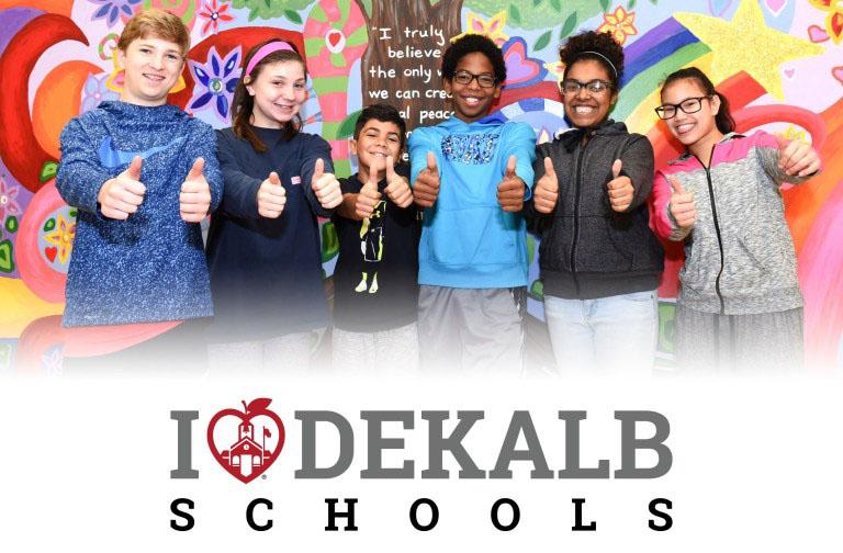 I love dekalb schools image