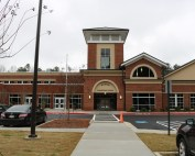 The new Austin Elementary School Building.