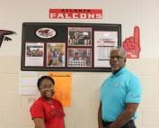 Nylah and Mr. Harris