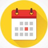 calendar icon linked to online scheduler