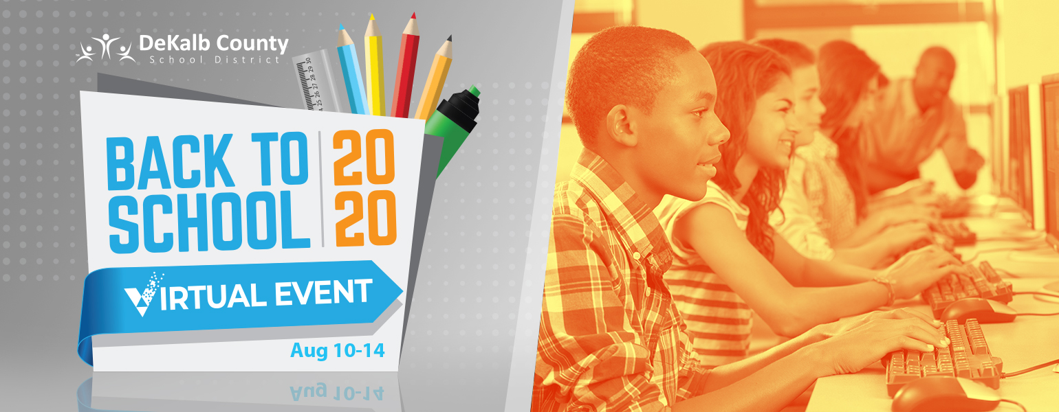 Back to School 2020 Virtual Event Web Banner