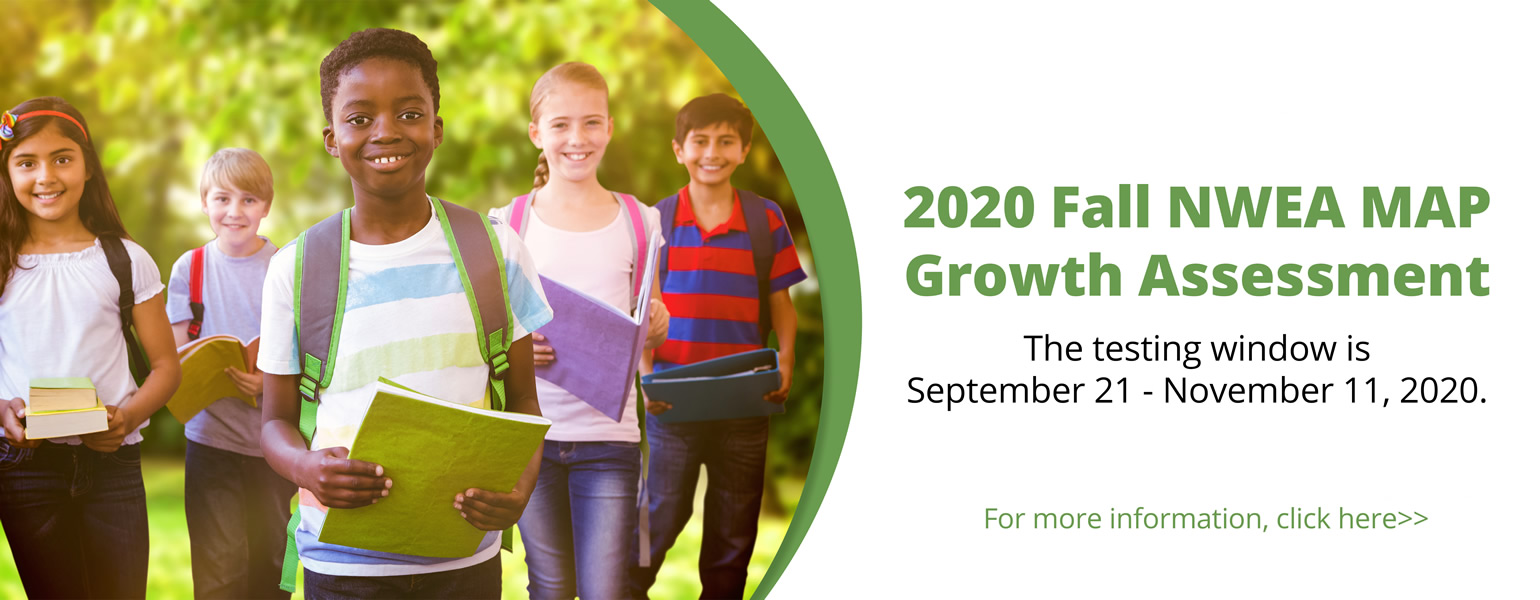 2020 Fall NWEA MAP Growth Assessment Web Banner