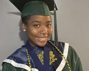 Niana Battle's cap and gown picture