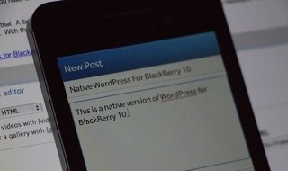 Wordpress publica la beta de su aplicación nativa para BlackBerry 10