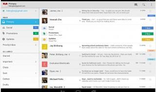 Gmail y Hangouts se actualizan en Android