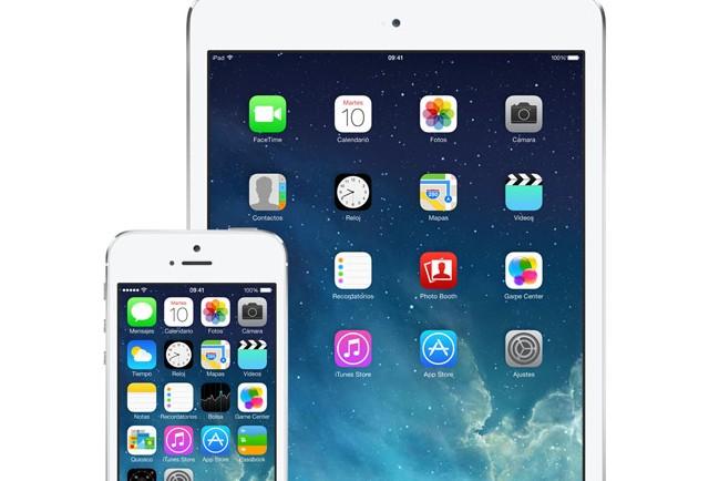 iOS 7 iPad iPhone