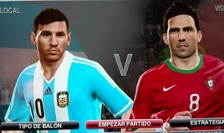 Soul Beating Option File 1.0 para el PES 2014 PS3 USA