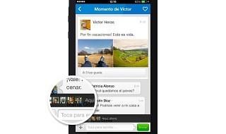 La aplicación de Tuenti para iPhone se actualiza con el envío multiple de fotos y momentos con actividad en tiempo real