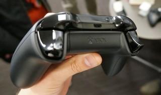 Los gatillos con impulsos por vibración del nuevo pad de Xbox One