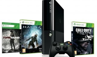 Nuevo pack de Xbox 360 con Tomb Raider, Halo 4 y Call of Duty: Ghosts