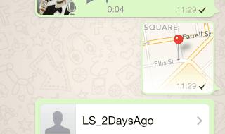 Así es la nueva versión de WhatsApp para iOS 7
