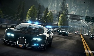 Gameplay del modo policía de Need for Speed: Rivals en PS4