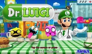 Anunciado Dr. Luigi para Wii U