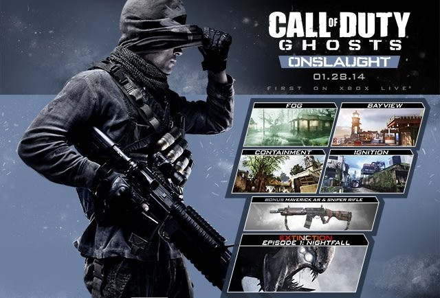 COD Ghosts DLC Onslaught Key Art