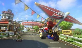 Gameplay del modo online de Mario Kart 8