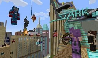 El pack de Los Vengadores para la versión de Xbox 360 de Minecraft se deja ver en vídeo
