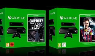 Packs de Xbox One + FIFA 14 o Call of Duty: Ghosts por 499,99€