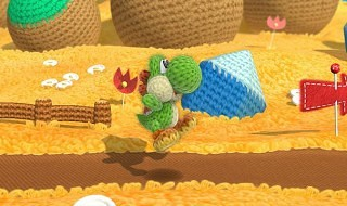 10 minutos de gameplay de Yoshi's Woolly World