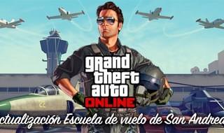 La actualización Escuela de vuelo de San Andreas llega a GTA Online