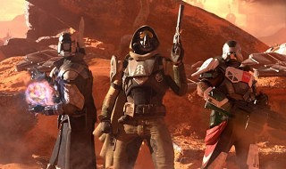 Así luce Marte en Destiny